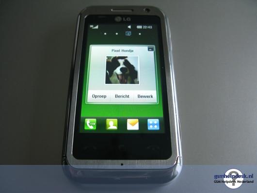 LG KM900 Contact
