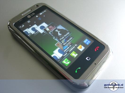 LG KM900 Affichage des contacts