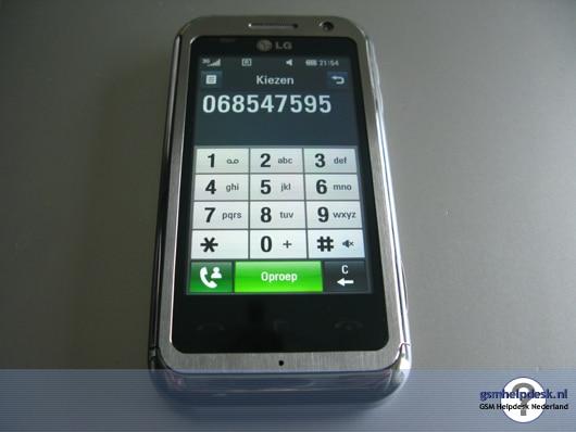 LG KM900 fonctions de base
