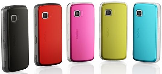 Disponible en six couleurs : rouge, rose, bleu, jaune, argent, et argent noir.