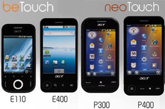 Telephone Acer Android Telephones-tactiles-acer