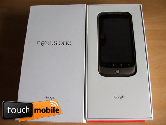 test du google nexus one