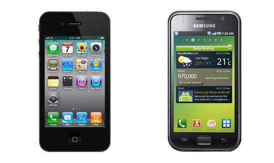 iphone 4 vs galaxy S
