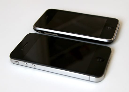 iphone 4 vs iphone 3g