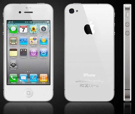 apple iphone 4 blanc