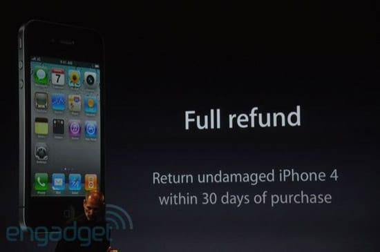 remboursement iphone 4