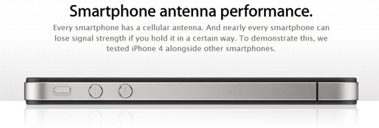 smartphone apple iphone 4 antenne