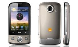 smartphone orange