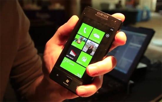 asus windows phone 7