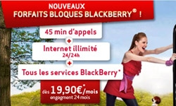 forfaits bloque blackberry
