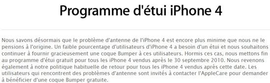 iphone 4 remboursement