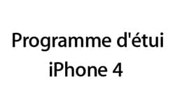 programme etui iphone 4