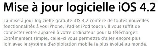 apple ios 4.2