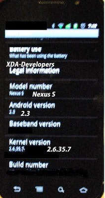 google nexus s android