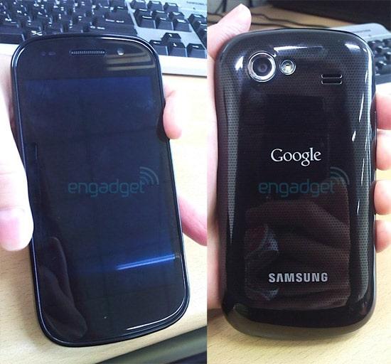 Les premières images du Google Nexus S
