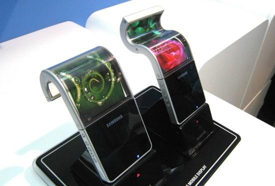 samsung ecran flexible