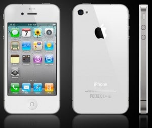 apple iphone 4 blanc