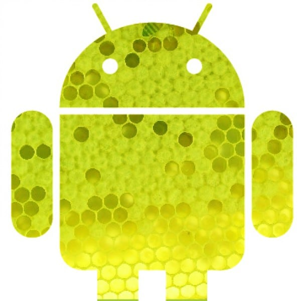 mascotte android honeycomb