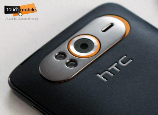 htc hd7 appareil photo numerique