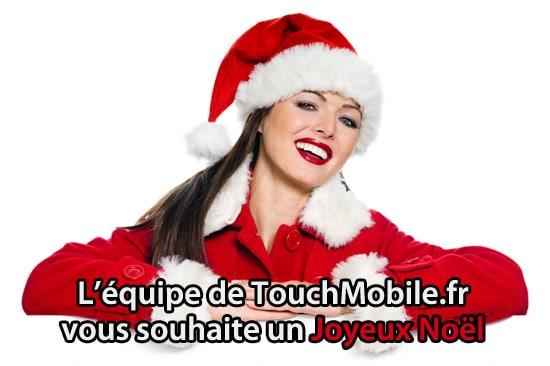 joyeux noel touchmobile