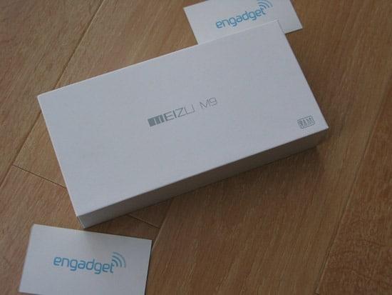 packaging meizu m9