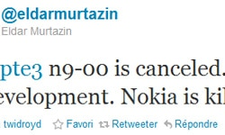 nokia n9 canceled