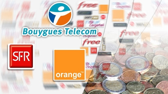 bouygues telecom orange sfr
