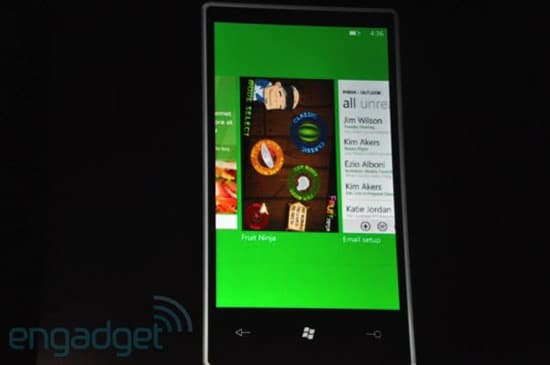 windows phone 7 multitache