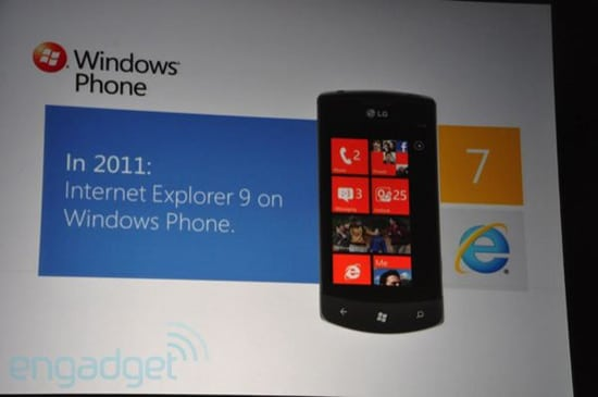 windows phone internet explorer 9