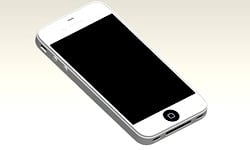 apple iphone 5 blanc