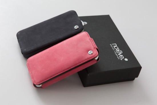 test des housses en cuir noreve pour iphone 187 touchmobile
