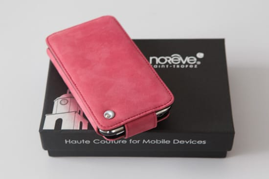 housse noreve rose packaging