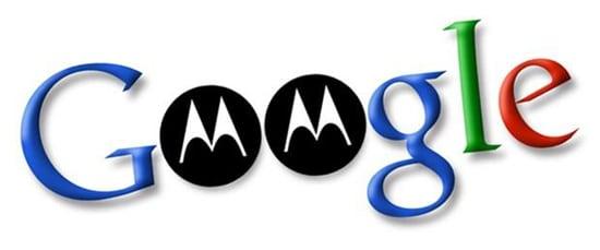 logo google avec logo motorola