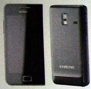 samsung galaxy s 2 mini front back