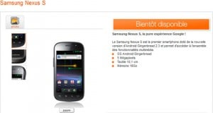 samsung nexus s orange