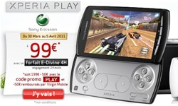 xperia play virgin