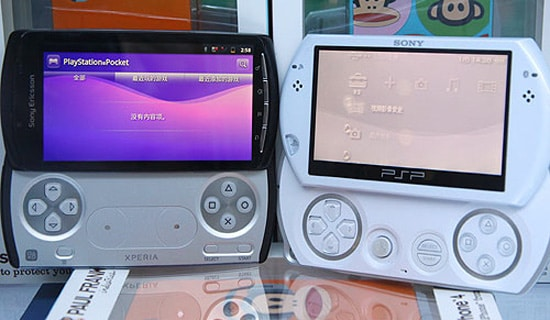 xperia play vs psp go