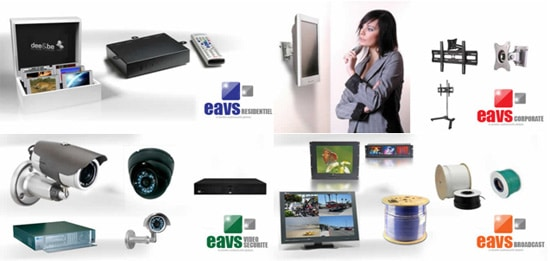 eavs broadcast corporate residentiel