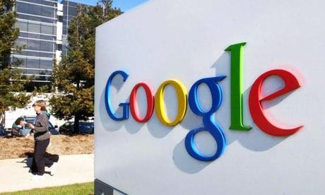 entrée site google