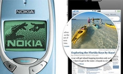 iphone 4 vs nokia 3310