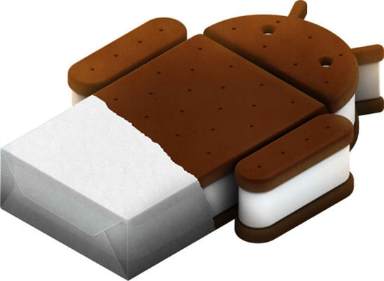 android ice cream sandwish