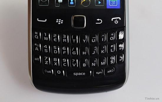 blackberry curve 9370 clavier