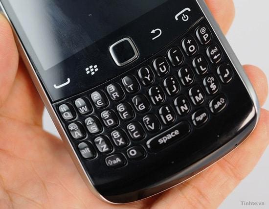 BlackBerry Curve clavier