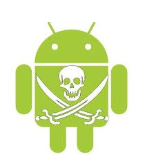 android et logo pirate