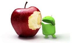 android domine apple