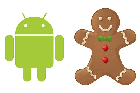 mascotte android avec gingerbread