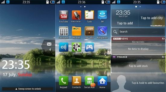 bada 2 interface