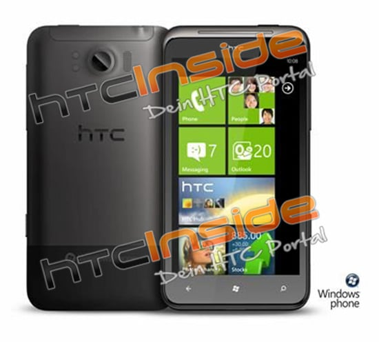 htc eternity front