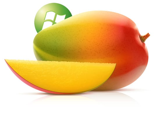 mangue + logo microsoft