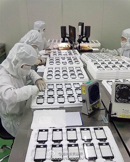 iphone 5 chaine production